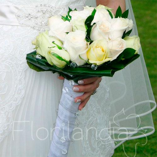 Imagen de Bouquet de novia - Arreglos florales para boda - Eventos Florilandia Express floristería en Bogotá