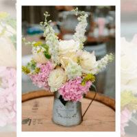 Imagen de Centros de mesa con flores farm floristería Florilandia Express