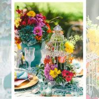 Imagen de Centros de mesa con flores floral floristería florilandia express