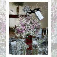 Imagen de Centros de mesa con flores minimal floristería florilandia express