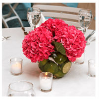 Imagen de Centros de mesa con flores red floristería florilandia express