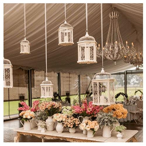 Imagen de Centros de mesa con flores vintage floristería florilandia express