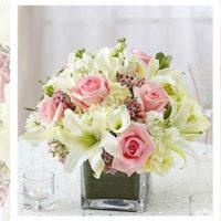 Imagen de Centros de mesa con flores yellow floristería florilandia express