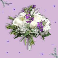 Imagen de Ramo de boda y Bouquet para novia - Arreglos florales para matrimonio - Floristerías Florilandia Express