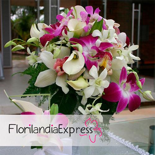 Imagen de Ramo de Novia - bouquets novia Eventos Florilandia Express Bogotá