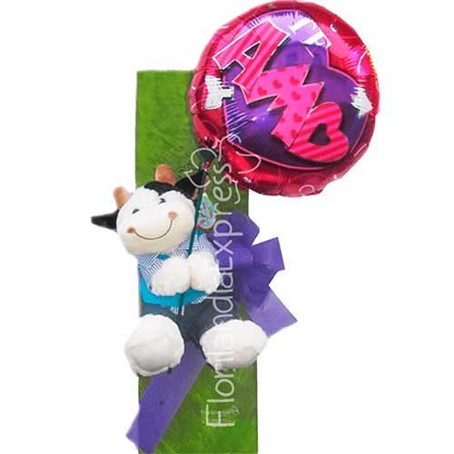 Imagen de Caja de Rosas a domicilio en Floristería Florilandia Express