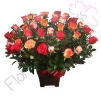 Imagen arreglo florales con amor - Ramos de Flores Aphasin - floristería Florilandia Express