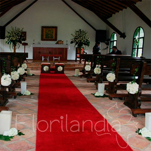 Imagen de Arreglos florales para bodas - Decoración de iglesias eventos Florilandia Express Bogotá