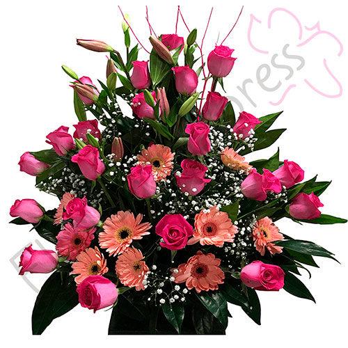 Imagen de Arreglo Floral Cali a domicilio - Arreglos florales para grados - Floristería Florilandia Express