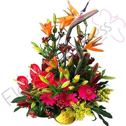 Imagen de Arreglo de Flores Exóticas Portugal - Floristería Florilandia Express