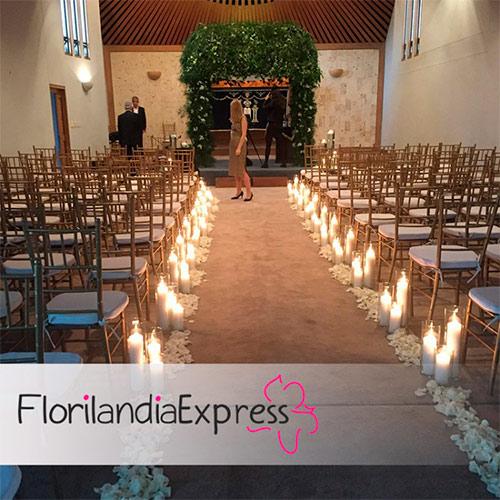 Imagen de Arreglos para iglesia - flores para matrimonio Florilandia Express Eventos