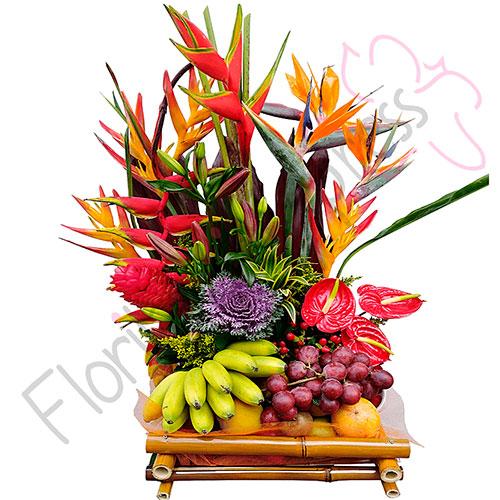 Arreglo Floral Exótico India