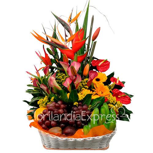 Imagen de Ancheta de frutas Moscú a domicilio - Floristería Florilandia Express
