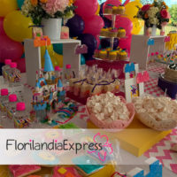 Imagen de cumpleaños infantiles eventos floristería Florilandia Express Bogotá