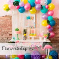 Decoración con globos Eventos Florilandia Express floristerías en Bogotá