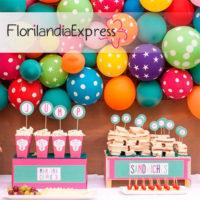 Imagen de Decoración con globos eventos floristerías Florilandia Express Bogotá