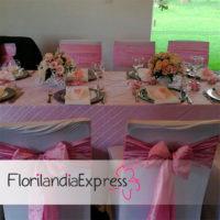 Imagen de Decoración de bautizos y fiestas infantiles Eventos floristería Florilandia Express Bogotá
