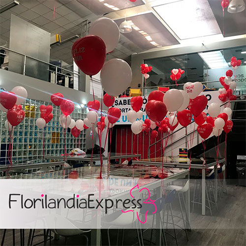 Imagen de decoración de globos - Eventos Floristería Florilandia Express Bogotá