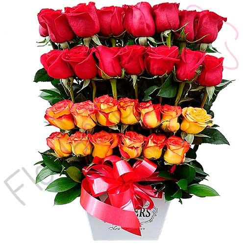 Imagen desayunos a domicilio bogota arreglo de rosas roma florilandia express