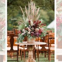 Imagen de eventos empresariales decoración de flores Florilandia Express