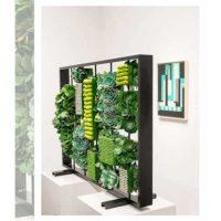 Imagen de eventos empresariales decoración hojas mural de plantas Florilandia Express