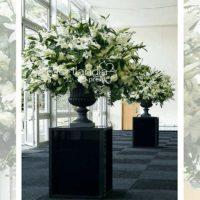 Imagen de eventos empresariales decoración oficina de plantas Florilandia Express