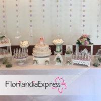 Imagen de Mesa de postres para eventos Florilandia Express Floristería Bogotá