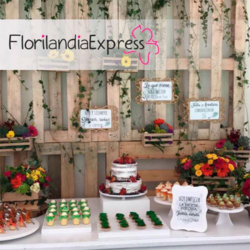 Imagen de Mesas de postres para eventos - Florilandia Express floristería Bogotá