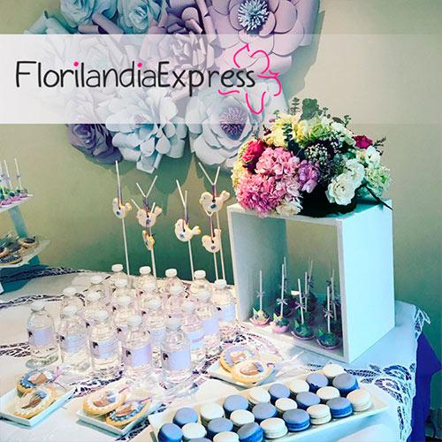 Imagen de Mesas de Postres para eventos Floristería Florilandia Express
