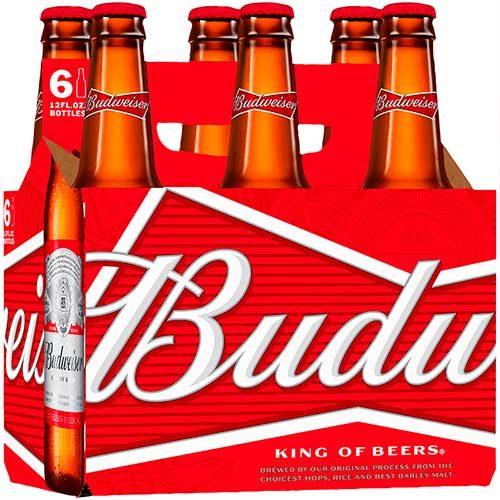 Imagen Six Pack de Cerveza Budweiser - Regalos a domicilio - Floristerías Florilandia Express
