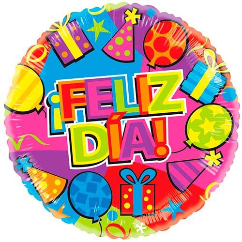 Imagen de Peluches, regalos y Globo Metalizado Feliz Día - floristería a domicilio Florilandia Express