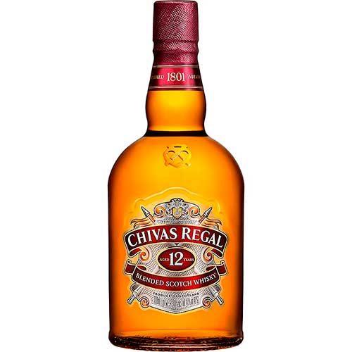Imagen de Peluches, regalos y Whisky Chivas Regal 12 años en floristerías a domicilio - Florilandia Express