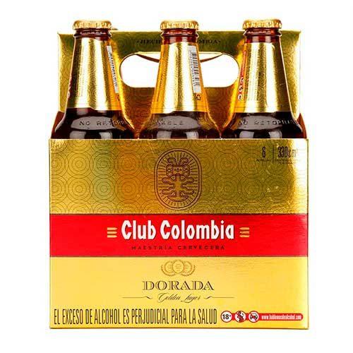 Imagen de Six Pack de Cervezas Club Colombia - Regalos adicionales en Floristería Florilandia Express