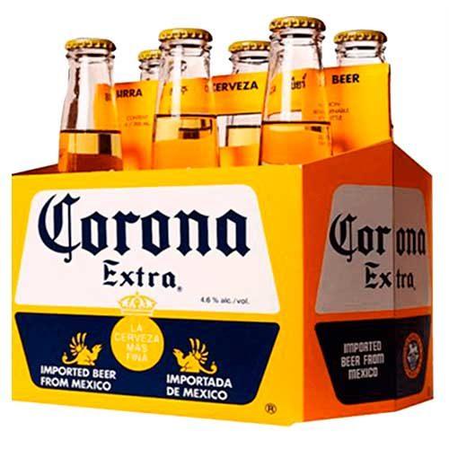 Imagen de Six Pack de Cervezas Corona - Regalos adicionales en Floristerías Florilandia express