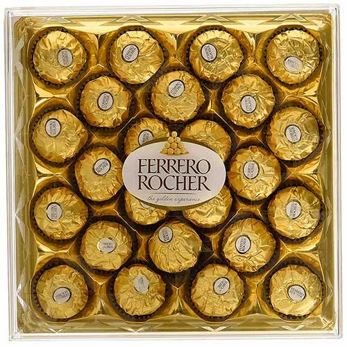 Imagen de peluches, regalos y Estuche de chocolates Ferrero Rocher grande floristería a domicilio Florilandia Express