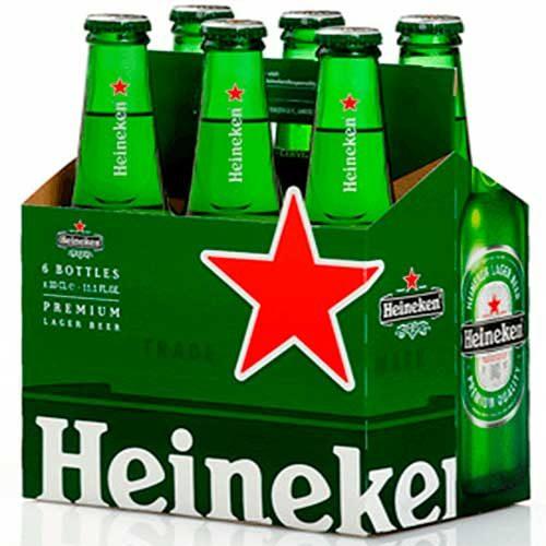 Imagen de Six Pack de Cerveza Heineken regalos adicionales en Florilandia Express Floristerías