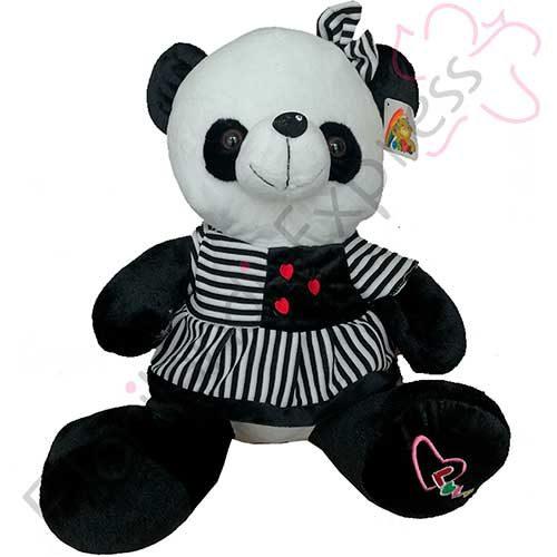 Imagen de Oso panda de peluche Berta y regalos en floristería a domicilio florilandia express Bogotá