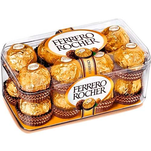 Imagen de peluches y regalos adicionales domicilio - Chocolates Ferrero Rocher Floristerías Florilandia express