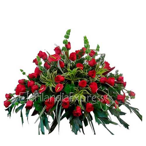 Imagen Ramo Fúnebre Gabriel florilandia floristería