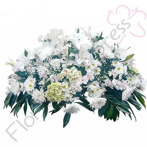 Imagen Arreglo Fúnebre Miqueas florilandia floristería