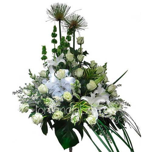 Imagen Arreglo Floral fúnebre Sara florilandia floristería