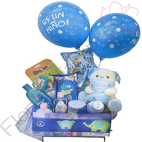 Imagen de ramos para recién nacidos y Regalo para nacimiento Trivilin - Floristería Florilandia Express Colombia
