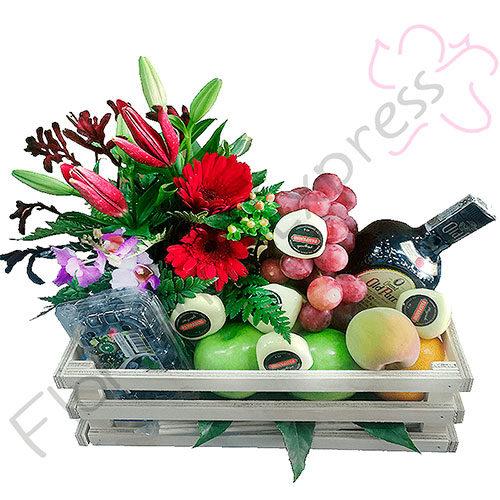 Canastas De Frutas Y Flores A Domicilio Florilandia Express