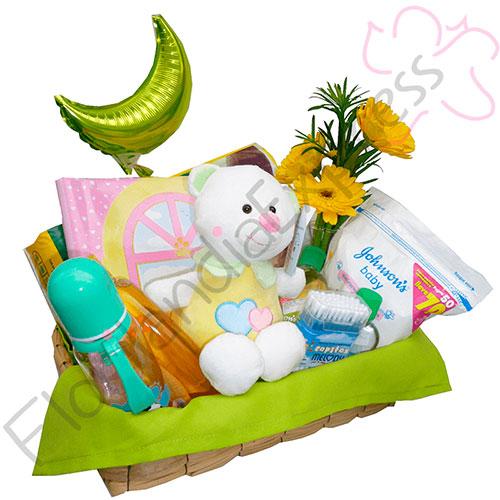 Imagen de Regalo de nacimiento Burbuja - regalos para recien nacidos a domicilio en Floristerías Florilandia Express