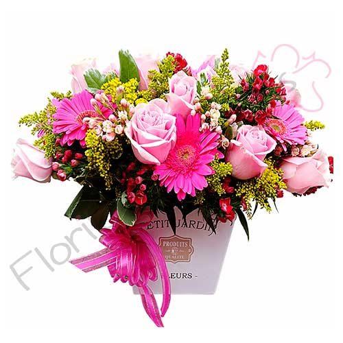Imagen regalos sorpresa amistad Jardín de Flores Mixtas - Floristería a domicilio Florilandia Express