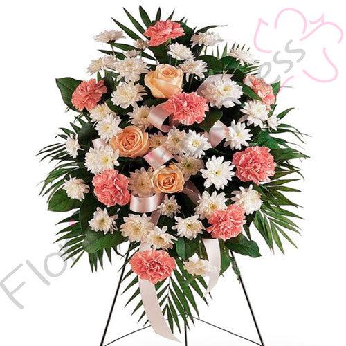 Imagen de Atril Fúnebre a domicilio Marcos - Arreglos florales - floristería Florilandia Express