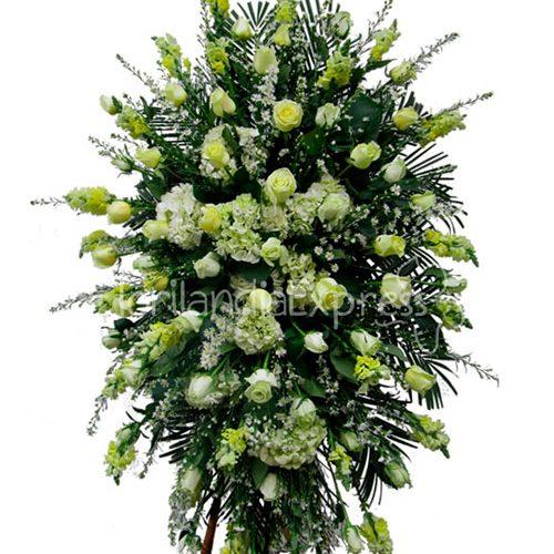 Imagen de Atril fúnebre jeremías - arreglos florales fúnebres a domicilio - floristería Florilandia Express