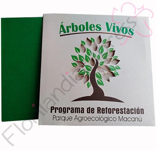 Imagen de Bonos de Condolencia - Árboles Vivos Macanú - Floristería Florilandia Express Colombia