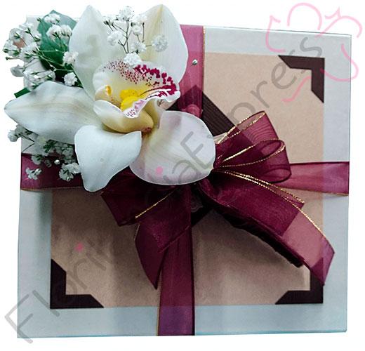imagen de Caja de lujo- Bonos de Condolencia - Árboles Vivos Macanú - Floristería Florilandia Express Colombia