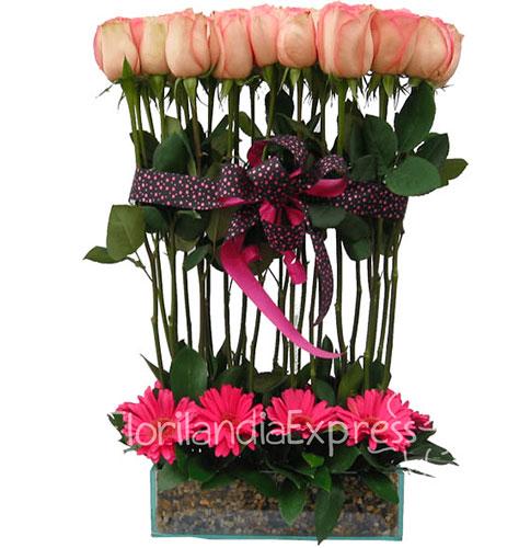 Imagen de Ramos de rosas en Bogotá ternura Floristería Florilandia Express